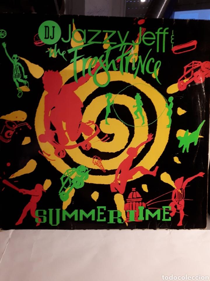 DJ JAZZY JEFF&THE FRESH PRINCE SUMMERTIME (Musik - Vinyl-Schallplatten - Maxi-Singles - Rap / Hip Hop)