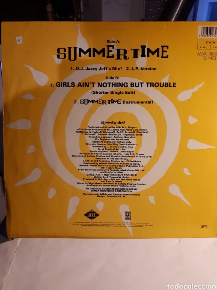 Vinyl-Schallplatten: DJ Jazzy Jeff&The Fresh Prince Summertime - Foto 2 - 146656205
