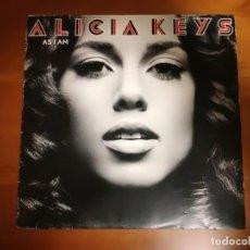 Discos de vinilo: ALICIA KEYS , AS I AM,DOBLE LP SONY 2007 USA. Lote 146663574