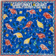 Discos de vinilo: ART GARFUNKEL, AMY GRANT. THE ANIMALS´ CHRISTMAS BY JIMMY WEBB. LP UK + LIBRETO. Lote 146664162