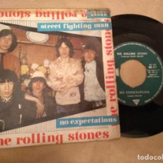 Discos de vinilo: THE ROLLING STONES STREET FIGHTING MAN / NO EXPECTATIONS VINILO 7 SINGLE 45 RPM DECCA 1968 ESPAÑA. Lote 146664234