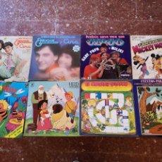 Discos de vinilo: 9 DISCOS MÚSICA INFANTIL... ENRIQUE Y ANA, ABEJA MAYA, HEIDI, HABÍA UNA VEZ UN CIRCO, MICKEY MOUSE,.. Lote 146664698