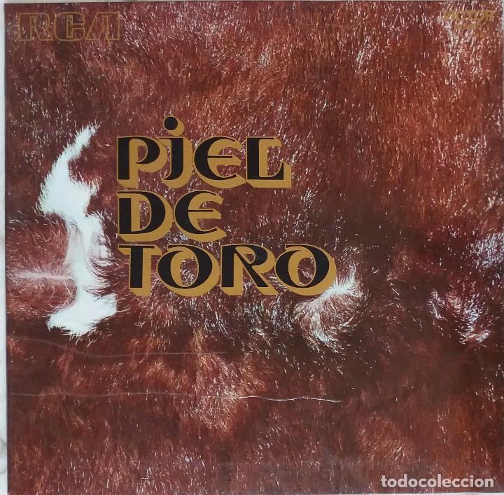 LOS RELAMPAGOS.PIEL DE TORO. LP ORIGINAL PORTADA ABIERTA. (Música - Discos - LP Vinilo - Grupos Españoles 50 y 60)