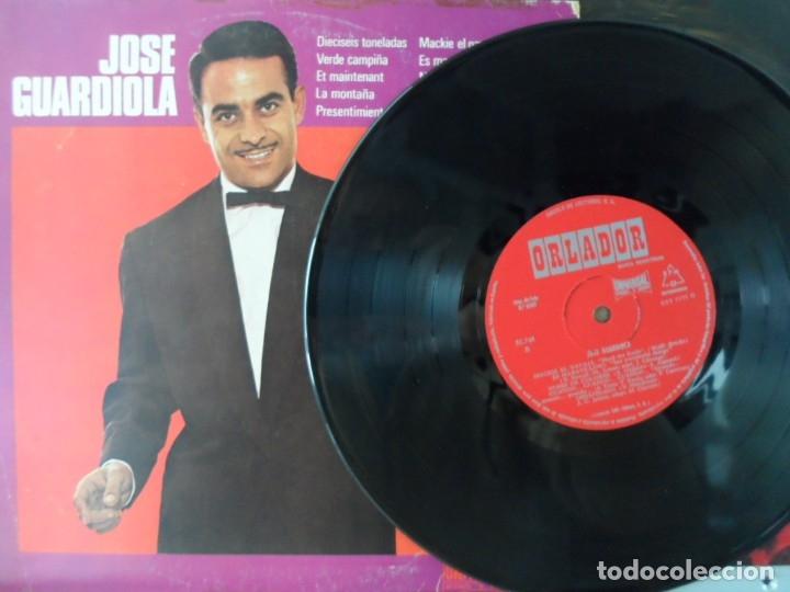 Discos de vinilo: *** JOSE GUARDIOLA - ÉXITOS - LP AÑO 1972 - EDICIÓN ESPECIAL CIRCULO DE LECTORES - LEER DESCRIPCIÓN - Foto 3 - 38697133