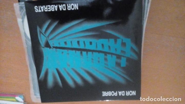 LABANAK LABANAK EP INSERTO (Música - Discos de Vinilo - EPs - Grupos Españoles de los 90 a la actualidad)