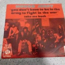 Discos de vinilo: VINILO MUNGO JERRY YOU DON´T HAVE TO BE IN THE ARMY TO FIGHT IN THE WAR - TAKE ME BACK RECORDS . Lote 146686630