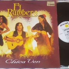 Discos de vinilo: EL RUMBERO CHICA VEN MAXI. Lote 146701105