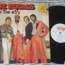 Discos de vinilo: THE EQUALS DOIN' THE 45'S - LP. Lote 146702964