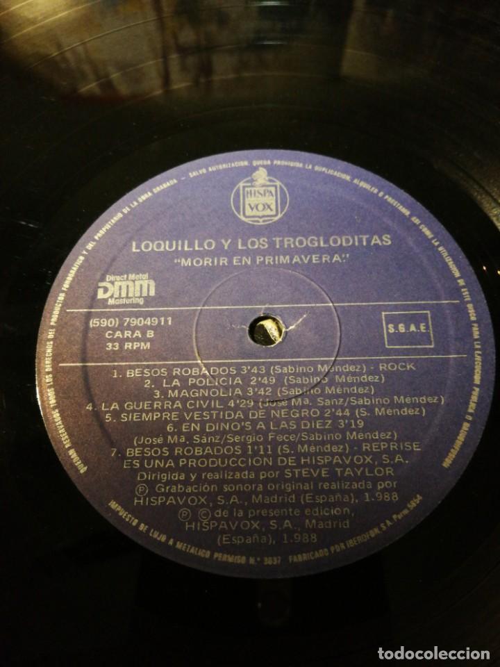 Discos de vinilo: LOQUILLO Y LOS TROGLODITAS - Foto 4 - 146705038
