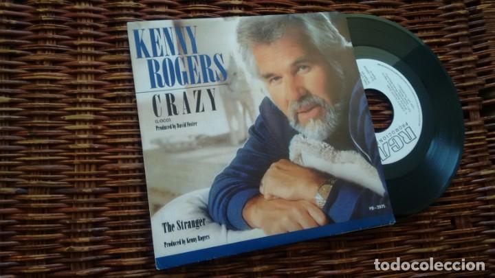 SINGLE (VINILO)-PROMOCION- DE KENNY ROGERS AÑOS 80 (Música - Discos - Singles Vinilo - Country y Folk)