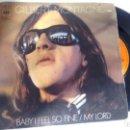 Discos de vinilo: SINGLE (VINILO) DE GILBERT MONTAGNE AÑOS 70. Lote 146714542