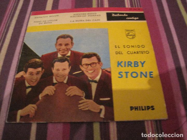 EP KIRBY STONE FOUR ZAPATOS ROJOS PHILIPS 429840 SPAIN (Música - Discos de Vinilo - EPs - Pop - Rock Extranjero de los 50 y 60)