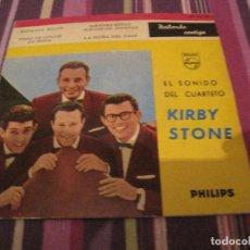 Discos de vinilo: EP KIRBY STONE FOUR ZAPATOS ROJOS PHILIPS 429840 SPAIN. Lote 146717206