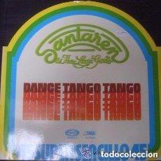 Discos de vinilo: SANTAREN & THE LOVIN' GIRLS - LOVE IN C MINOR, DANCE TANGO TANGO - MAXI 1977. Lote 146720194