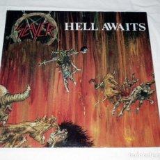 Discos de vinilo: LP SLAYER - HELL AWAITS. Lote 146723694