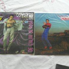 Discos de vinilo: LOTE DISCOS VINILO LP LOS COYOTES. Lote 146726298