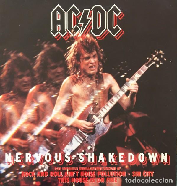 AC/DC – NERVOUS SHAKEDOWN VINYL, 12, 45 RPM EP SPAIN HARD ROCK (Música - Discos de Vinilo - EPs - Rock & Roll)