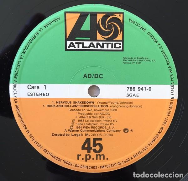 Discos de vinilo: AC/DC – Nervous Shakedown Vinyl, 12, 45 RPM ep spain Hard Rock - Foto 3 - 146730414