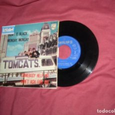 Discos de vinilo: TOMCATS EP PAINT IT BLACK - MONDAY, MONDAY. SOMEBODY HELP-DONT ASK FOR..1966.. Lote 146737902