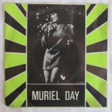Discos de vinilo: SINGLE VINILO MURIEL DAY. EUROVISIÓN 1969. FIRMADO POR LA ARTISTA. Lote 146750578
