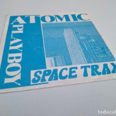 Discos de vinilo: SPACE TRAX - ATOMIC PLAYBOY / VINILO SINGLE IMPORT PROMO TEMAZO. Lote 146752738