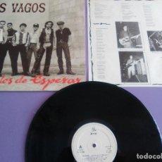 Discos de vinilo: LP. ORIGINAL SPAIN. LOS VAGOS-CANSADOS DE ESPERAR.SELLO JAMMIN RECORDS JMN 02 014.AÑO 1993 + ENCARTE. Lote 146755390