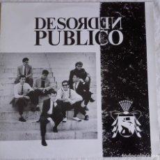 Discos de vinilo: DESORDEN PÚBLICO . Lote 146760618
