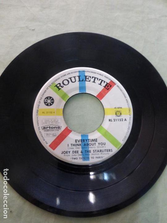 Discos de vinilo: Joey Dee & The Starliters – Everytime (I Think About You) RARA EDICIÓN HOLANDESA. RL 21152 - Foto 2 - 146769162