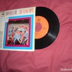 Discos de vinilo: TEEN TOPS EP MAYBELLENE/EL TRISTE BUFON/EL VIEJITO/VUELTAS Y VUELTAS 1963 VER FOTO. Lote 146774346