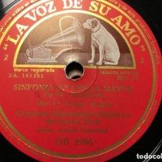 Discos de vinilo: SINFONIA Nº7 EN LA MAYOR ARTURO TOSCANINI. Lote 146782278
