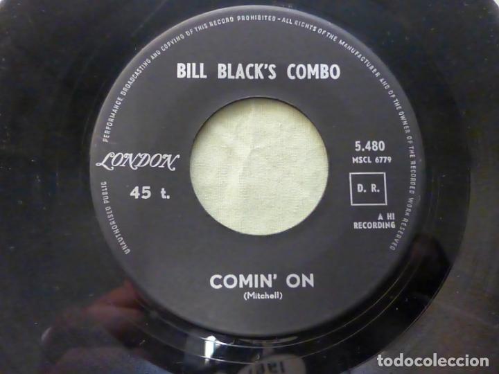 BILL BLACK'S COMBO. COMIN' ON / SOFT WINDS. LONDON RECORDS. INSTRUMENTAL. (Música - Discos - Singles Vinilo - Rock & Roll)