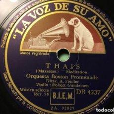 Discos de vinilo: DISCO THAIS MASSENET -MEDITATION. Lote 146782914
