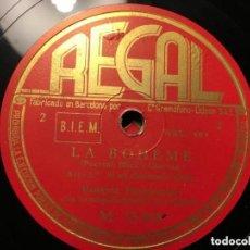 Discos de vinilo: LA BOHEME LUIGI MARIAN-ROSETTA PAMPANINI. Lote 146784374