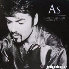 Discos de vinilo: GEORGE MICHAEL / MARY J. BLIGE - AS - MAXI-SINGLE EUROPE 1999. Lote 146789778