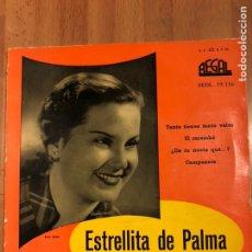 Discos de vinilo: DISCO VINILO EP ESTRELLITA DE PALMA.EL CARAMBO.ODEON. Lote 146795977