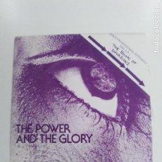 Discos de vinilo: HORSLIPS THE POWER AND THE GLORY ( 1977 DJM ESPAÑA ) BUEN ESTADO. Lote 146803490