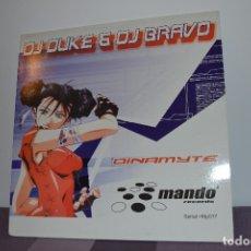 Discos de vinilo: DJ DUKE (3) & DJ BRAVO ?– DYNAMITE. Lote 146803734