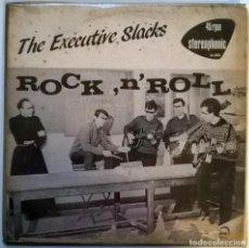 Discos de vinilo: EXECUTIVE SLACKS. ROCK'N'ROLL/ THE BUS. PLAY IT AGAIN SAM RECORDS ?MAXI-LP (BIAS35). Lote 146824646