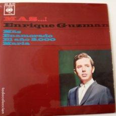 Discos de vinilo: ENRIQUE GUZMAN- MAS - EP 1964 - LOS TEEN TOPS.. Lote 146826414
