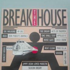Discos de vinilo: BREAK THE HOUSE#. Lote 146830654