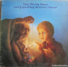Discos de vinilo: MOODY BLUES, THE: EVERY GOOD BOY DESERVES FAVOUR. Lote 146831794