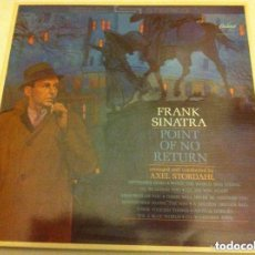Discos de vinilo: FRANK SINATRA - POINT OF NO RETURN (1985)- NUEVO. Lote 146858222