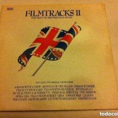 Discos de vinilo: FILM TRACKS II - THE BEST OF BRITISH FILM MUSIC. Lote 146862286