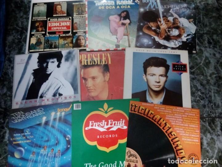 LOTE DE 29 VINILOS: MADONNA, ELVIS PRESLEY, SWING, BARBARA STREISAND, BEE GEES.... (Música - Discos - LP Vinilo - Otros estilos)