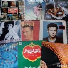Discos de vinilo: LOTE DE 29 VINILOS: MADONNA, ELVIS PRESLEY, SWING, BARBARA STREISAND, BEE GEES..... Lote 146866930