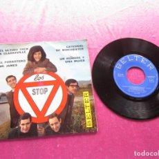 Discos de vinilo: LOS STOP - EL ULTIMO TREN DE CLARKSVILLE - CATEDRAL DE WINCHEST EP. Lote 146875178