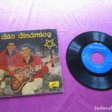 Discos de vinilo: DUO DINAMICO EP 1959 ALONE/ COW BOY/ LITTLE DARLING. Lote 146875746