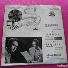 Discos de vinilo: TRIO LOS CELTIS Y ANYELO MI CHIQUITITA CAMPEON DE TWIST. Lote 146876118