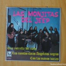 Discos de vinilo: LAS MONJITAS DEL JEEP - UNA ESTRELLA DEL CIELO + 3 - EP. Lote 146877160