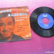 Discos de vinilo: JORGE CARDOSO Y SU CONJUNTO ARGENTINO EP. Lote 146877274